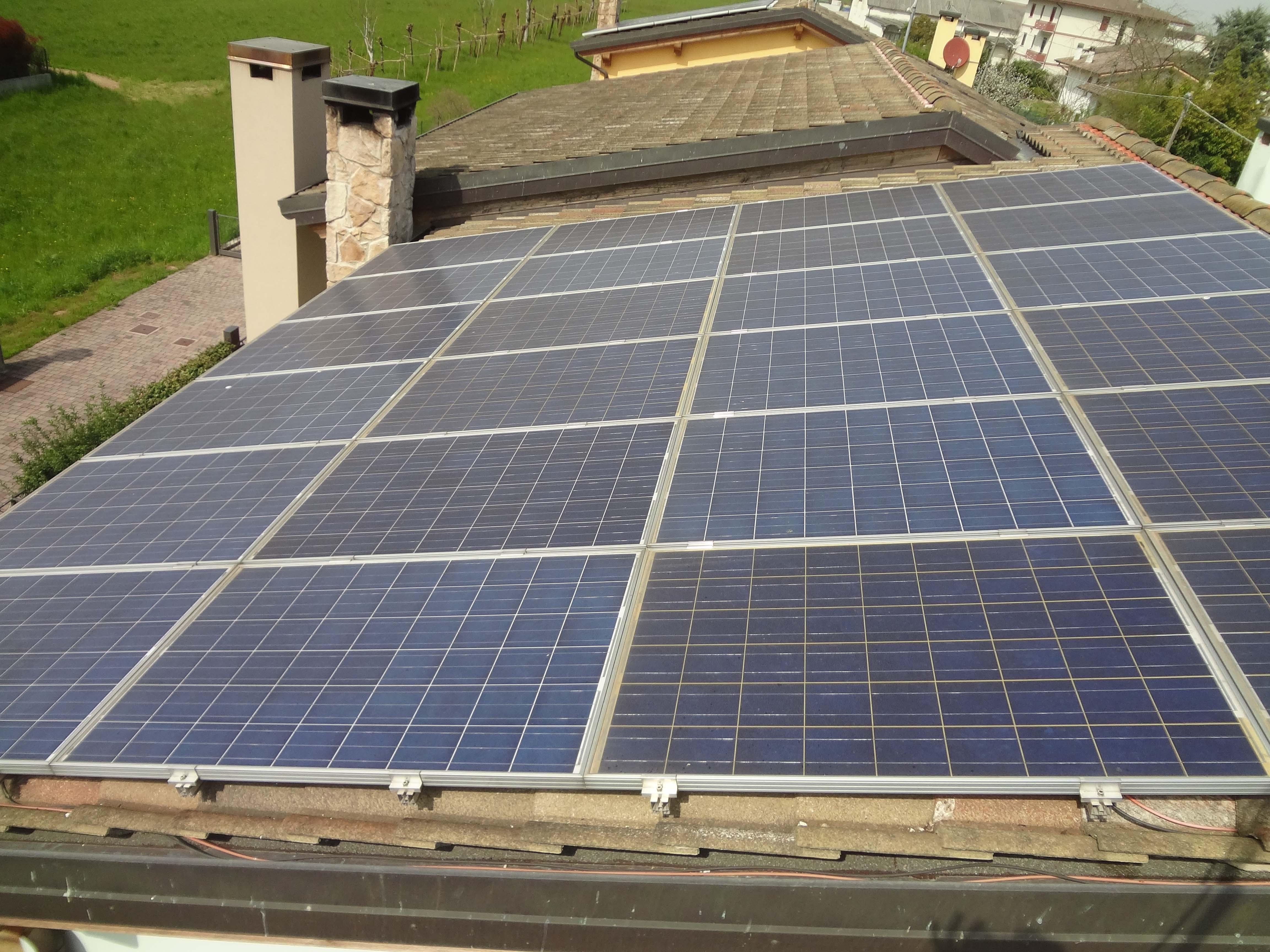 Installazione pannelli fotovoltaici incentivi 50