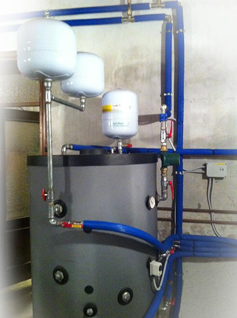 Impianto di riscaldamento in Pompa di Calore