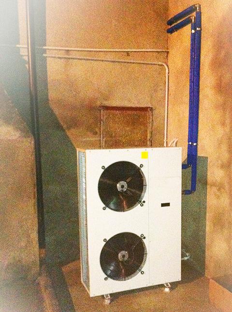 Impianto di riscaldamento in pompa di calore for Impianto di riscaldamento con pompa di calore