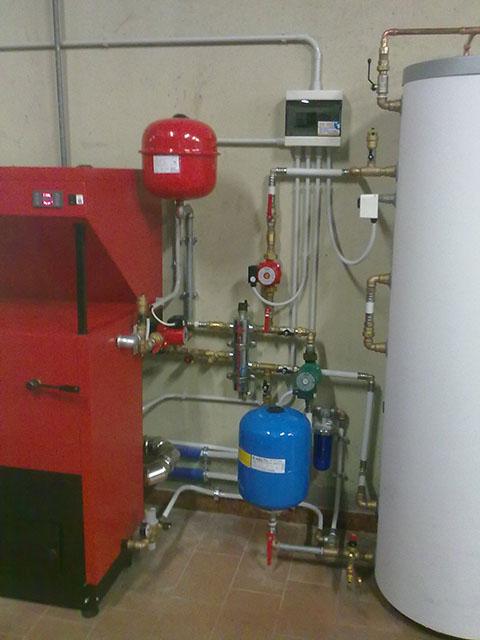Impianto Di Riscaldamento Con Caldaia A Biomassa  impianto di riscaldamento con caldaia a ...